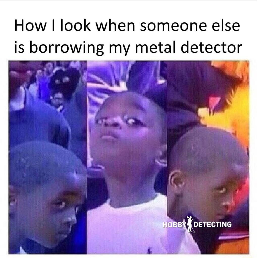 Metal detecting joke