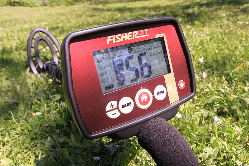 Fisher F22 metal detector review and tips