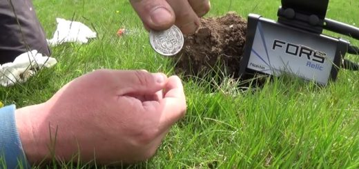 Coin hunting with Nokta Fors Relic metal detector