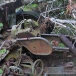 Bolshoy Tyuters island WW2 finds artillery wehrmacht relics german nazi world war two