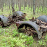 Bolshoy Tyuters island WW2 finds artillery wehrmacht relics german nazi world war two