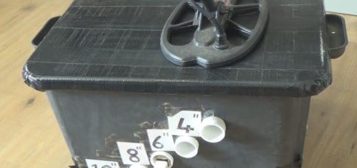 Makro Racer 2 depth test metal detector review