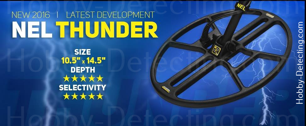 NEL Coil thunder new model september 2016 metal detector reviews
