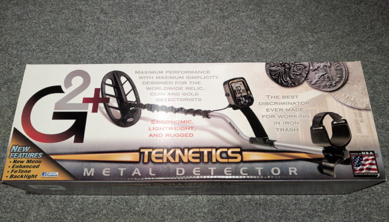 An unusual detector - Teknetics G2 + (review of the kit, photos+)