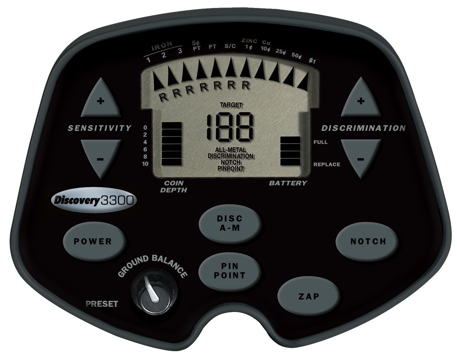 Bounty Hunter Discovery 3300 ground detector