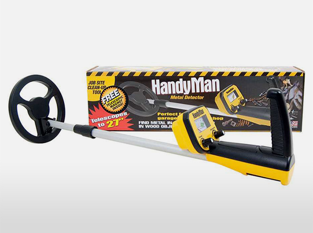 Bounty Hunter HandyMan ground detector