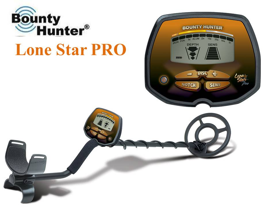 Bounty Hunter Lone Star Pro ground detector