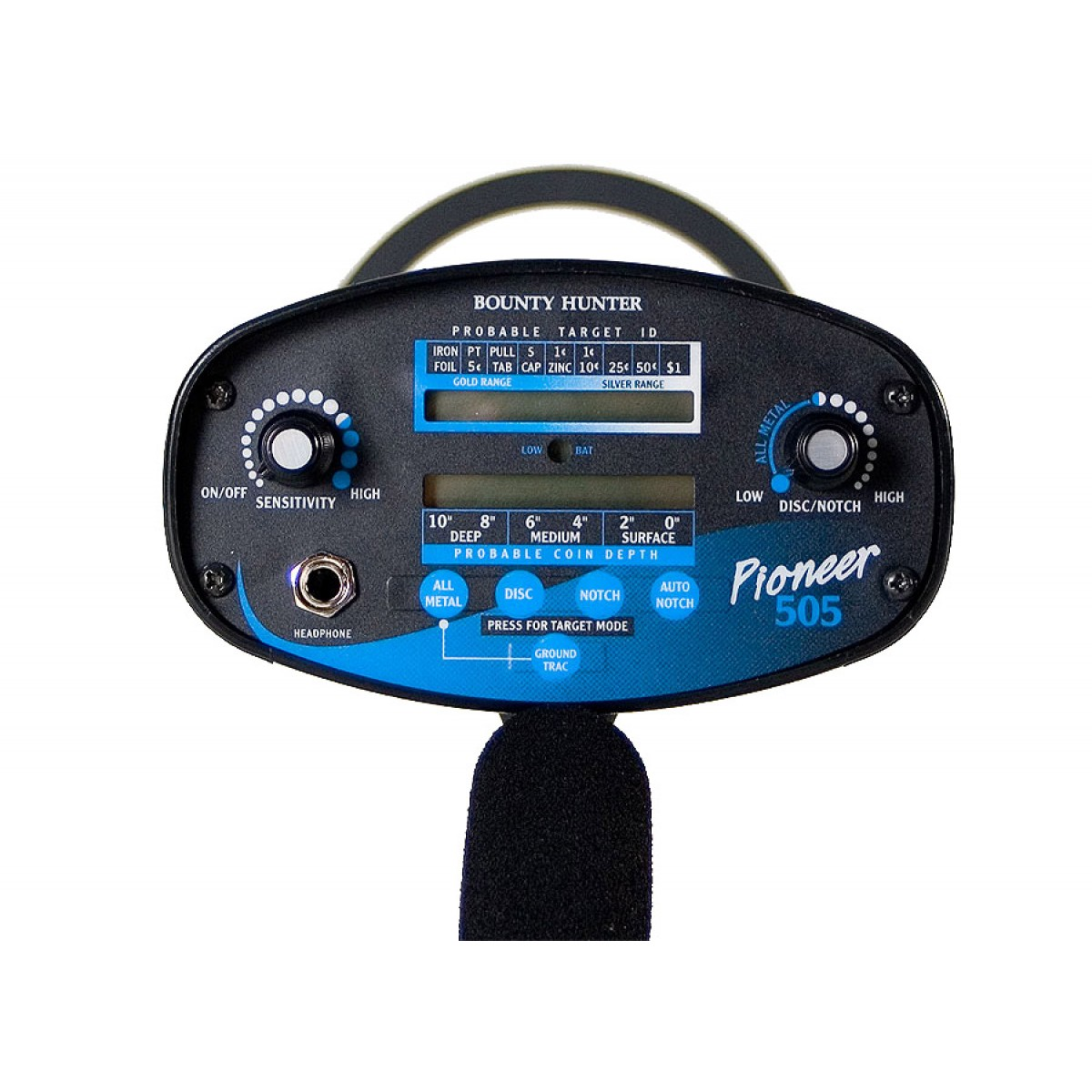 Bounty Hunter Pioneer 505 ground detector
