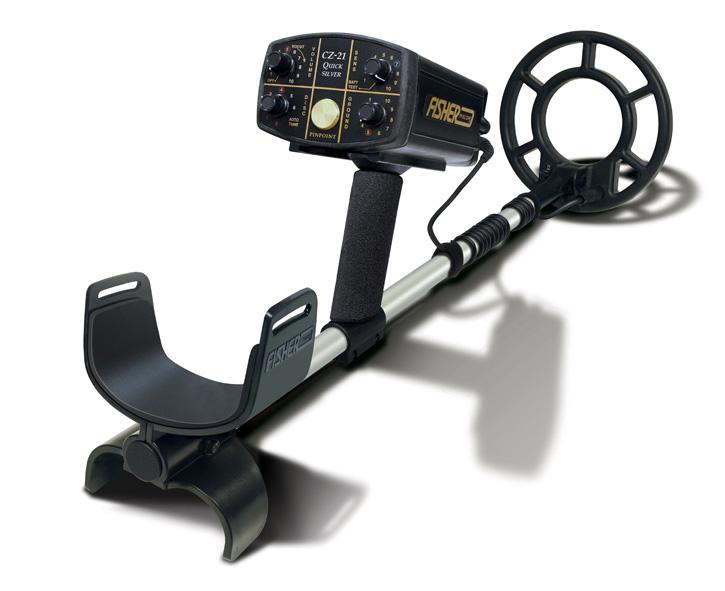 Fisher CZ-21 underwater detector Minelab
