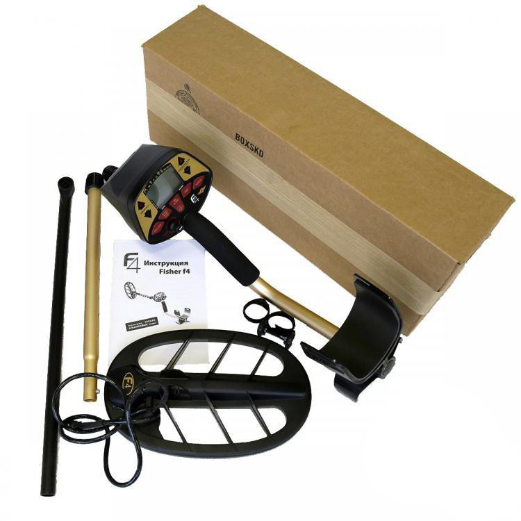 Fisher F4 ground detector Minelab