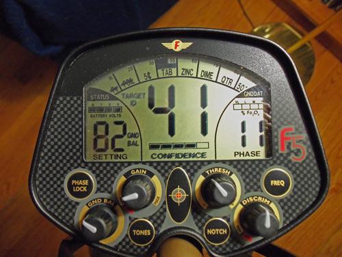 Fisher F5 ground detector Minelab