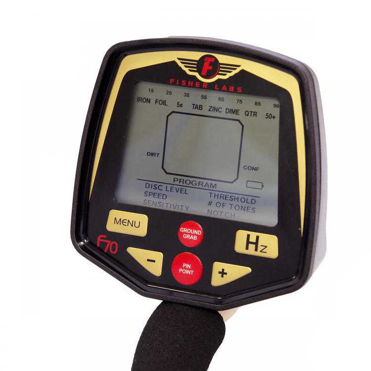 Fisher F70 ground detector Minelab