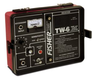 Fisher TW-6 Minelab deep detector