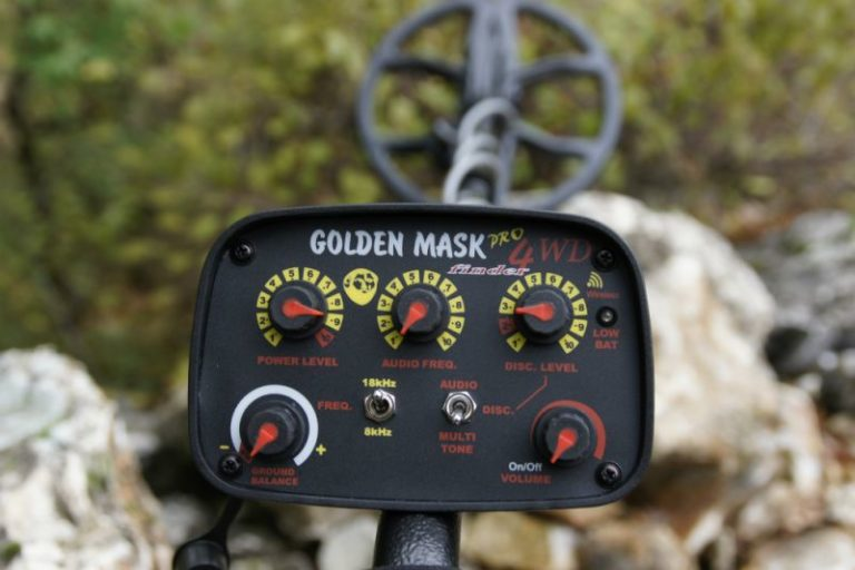 Golden Mask 4 Pro Minelab ground detector