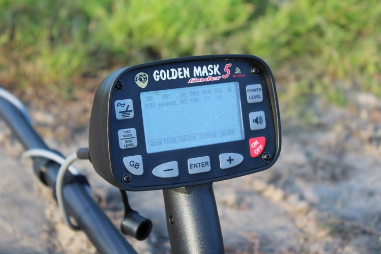 Golden Mask 5 Minelab ground detector