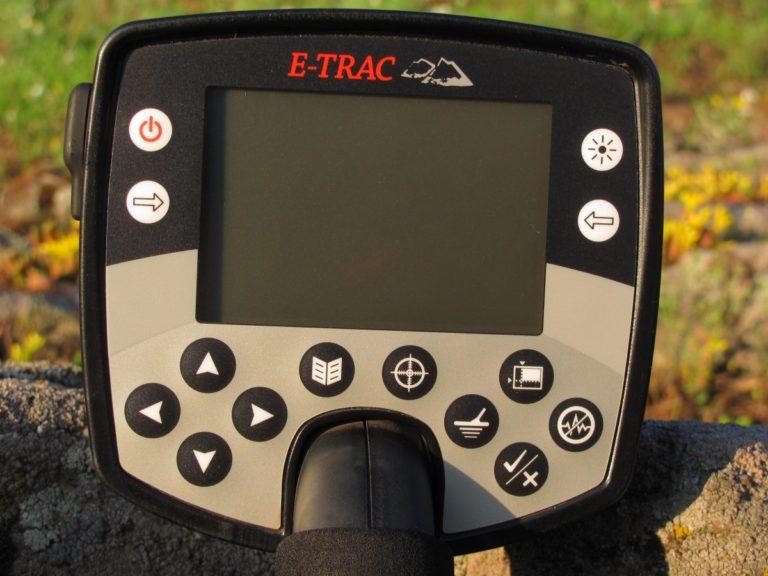 Minelab E-Trac ground detector MIinelab
