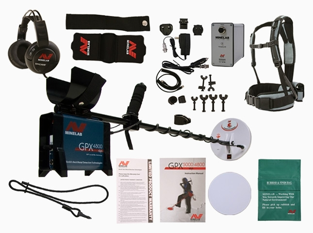 Minelab GPX 4800 ground detector Minelab