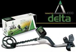 Teknetics Delta 4000 Minelab ground detector