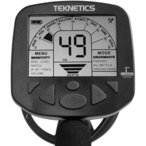 Teknetics Gamma 6000 Minelab ground detector