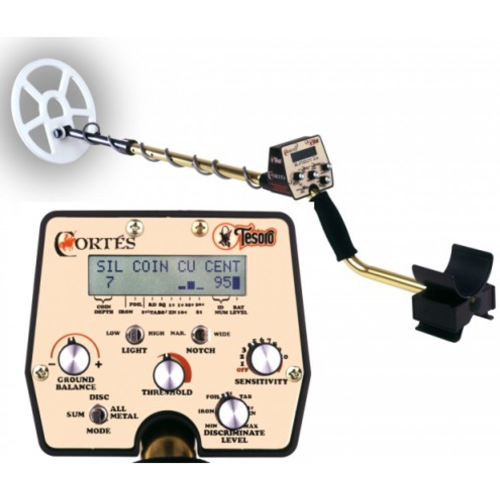 Tesoro Cortes ground detector