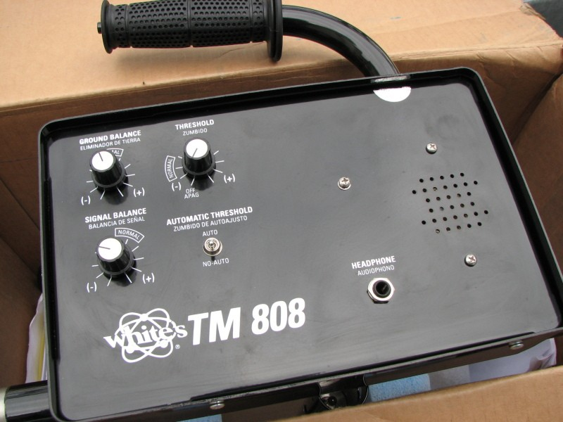 Whites TM-808 deep detector Whites