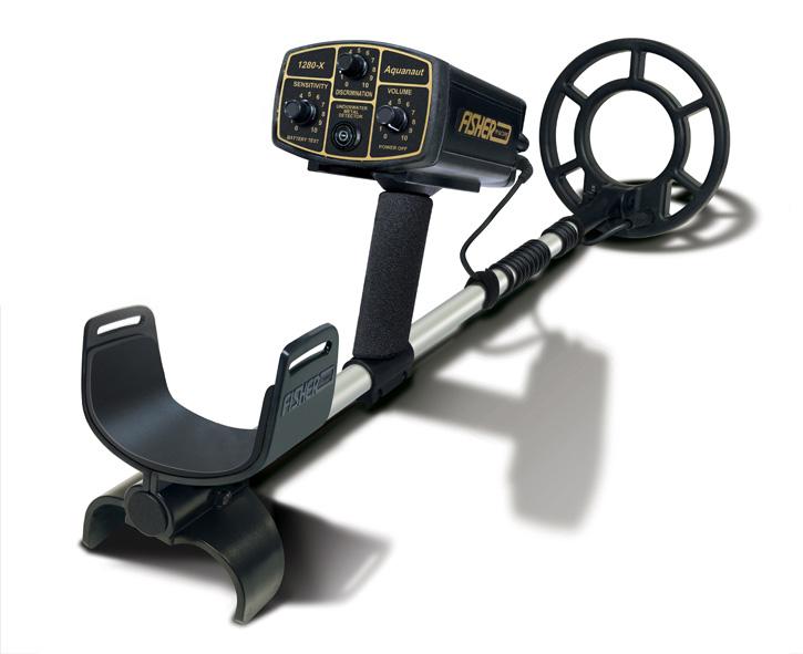 Fisher 1280x Minelab underwater detector