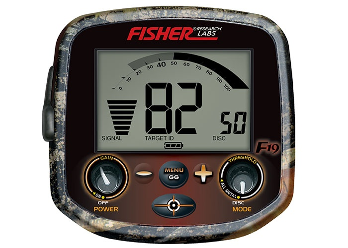 Fisher F19 ground detector Minelab