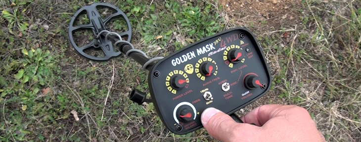 Golden Mask 4WD Pro Minelab ground detector