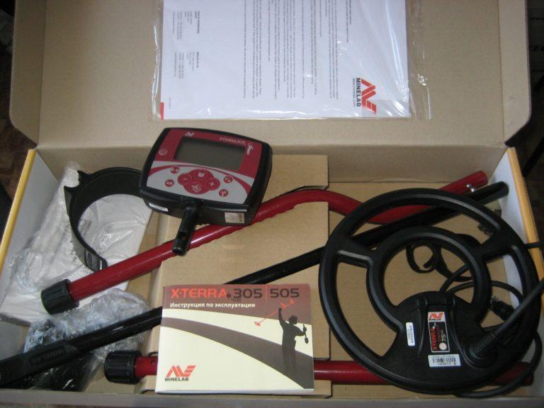 Minelab X-Terra 305 ground detector Minelab