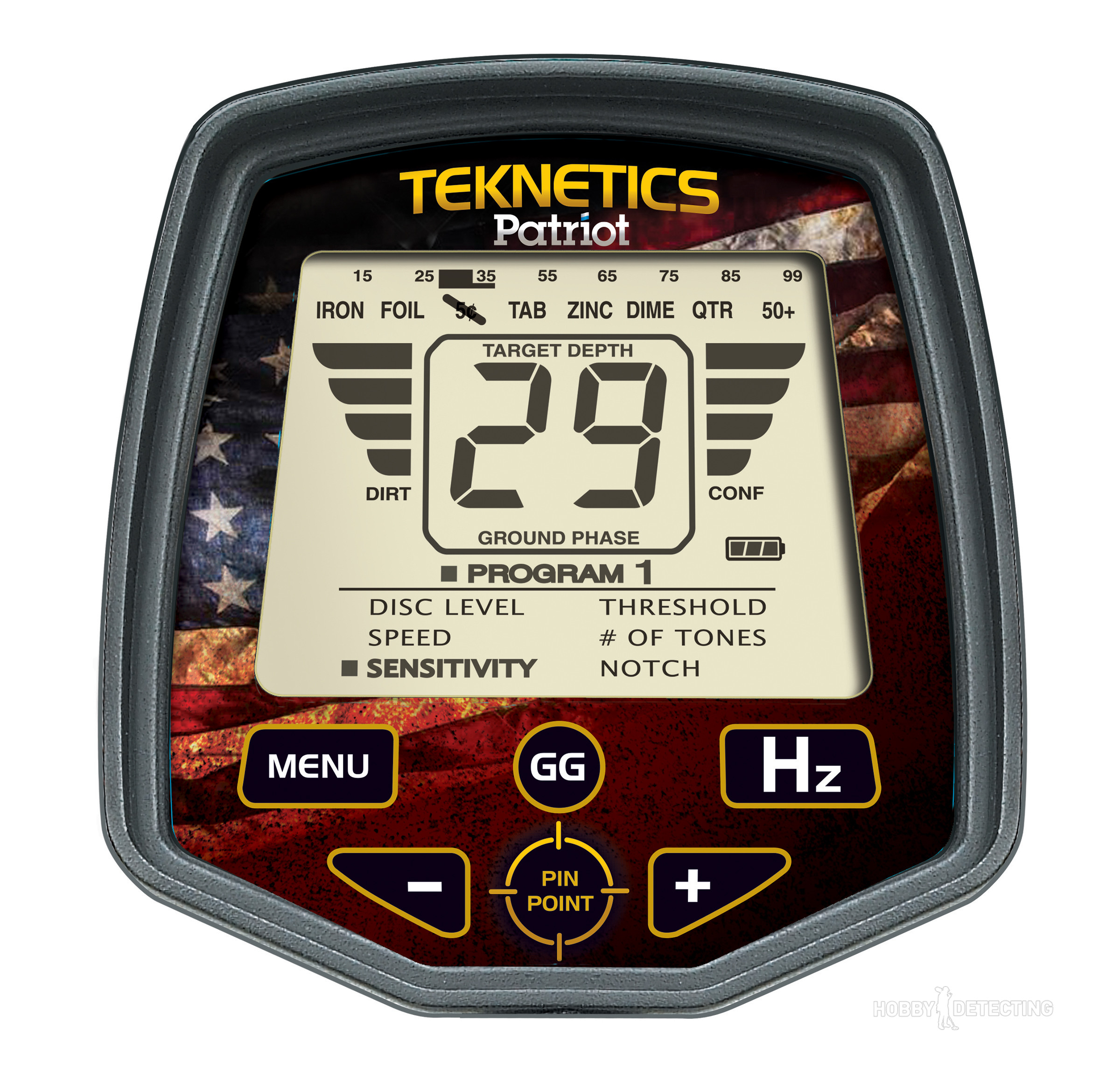 Teknetics Patriot ground detector