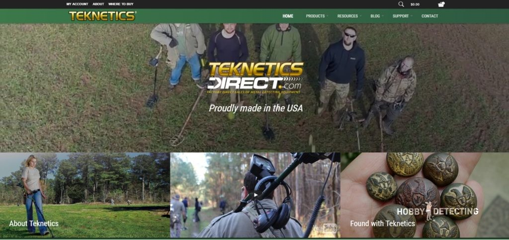 Promo code for Tekneticsdirect or how to save on your Teknetics metal detectors order? (Facts, code+)