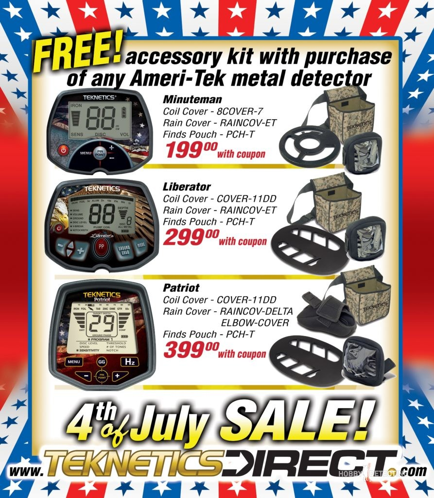 Teknetics Direct 4th of July Promotion 2017!