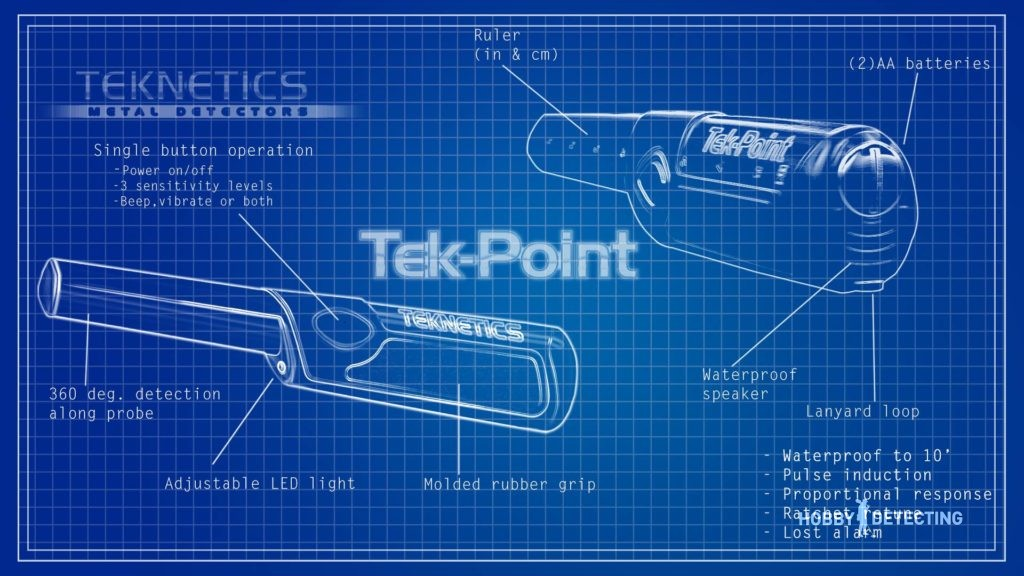 Tek-Point - a new pinpointer by Teknetics announced! (photo and video+)