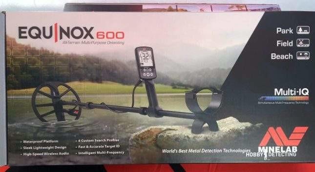 Minelab Equinox 600 New Detector 2017