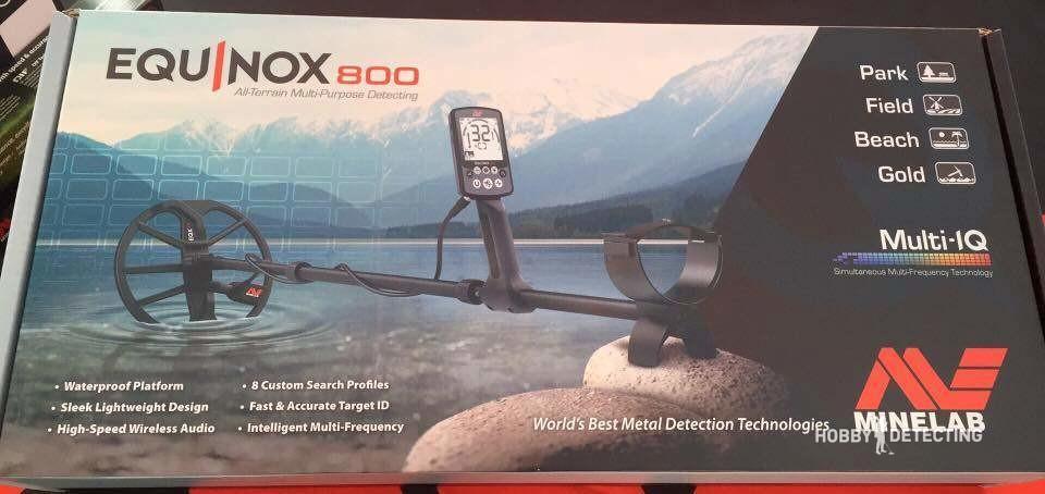 Minelab Equinox 800 New Detector