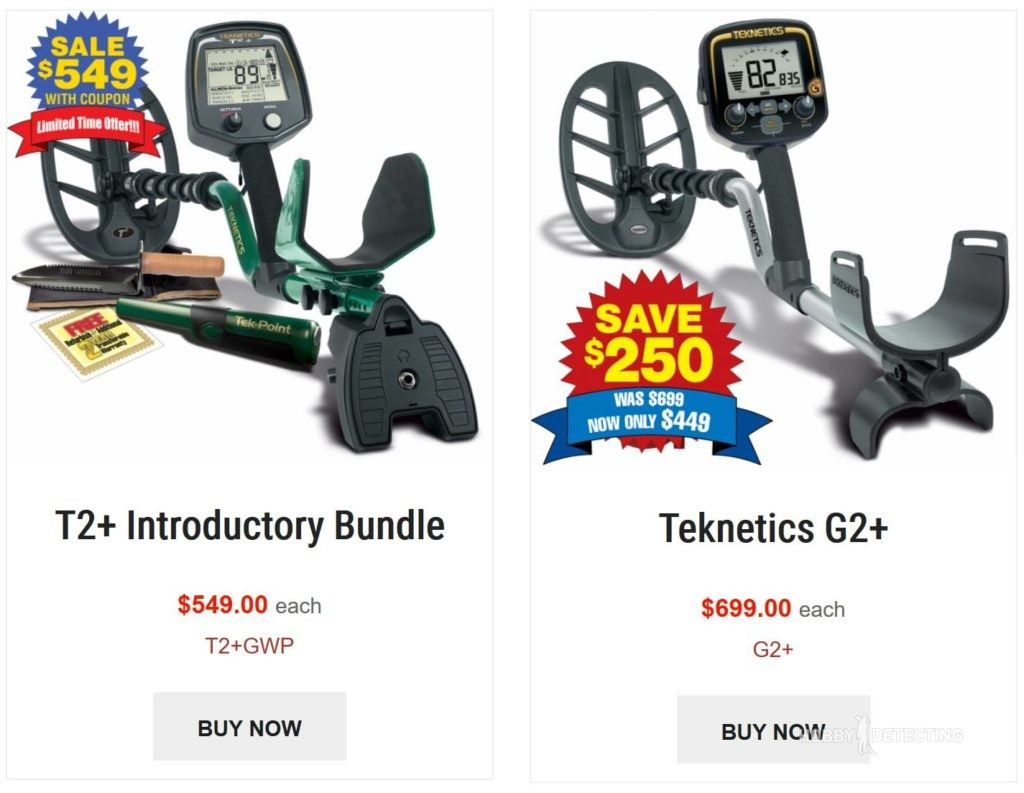 Two new promos on Teknetics direct - for T2+ bundle and G2+!