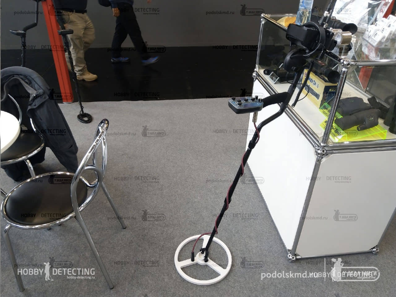 Fisher Impulse AQ – A New Pulse Metal Detector With Metal